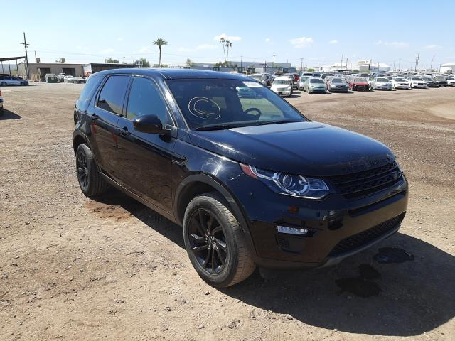 Salvage cars for sale from Copart Phoenix, AZ: 2018 Land Rover Discovery