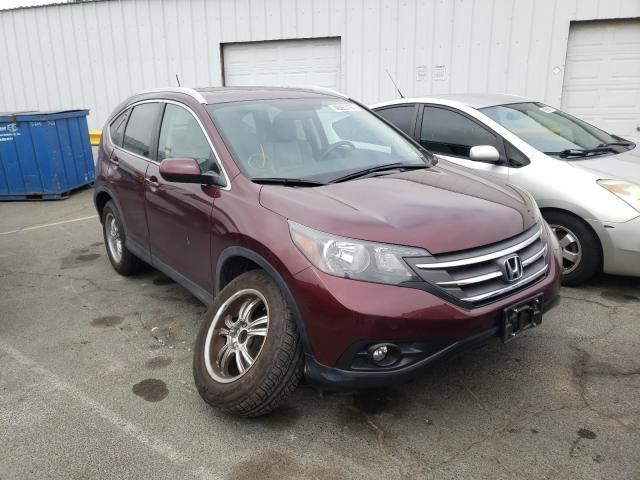 Salvage cars for sale from Copart Vallejo, CA: 2014 Honda CR-V EXL