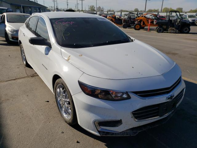 Salvage cars for sale at Nampa, ID auction: 2018 Chevrolet Malibu LS