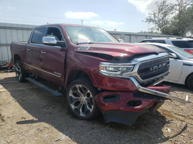 Salvage cars for sale from Copart Mercedes, TX: 2019 Dodge RAM 1500 Limited