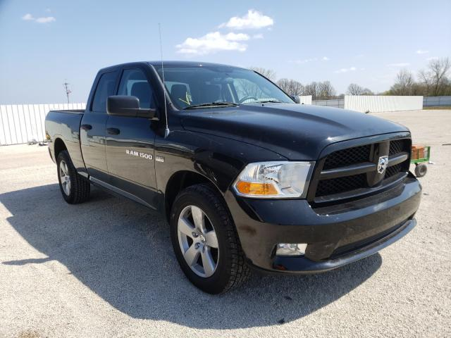 Salvage cars for sale from Copart Milwaukee, WI: 2012 Dodge RAM 1500 S