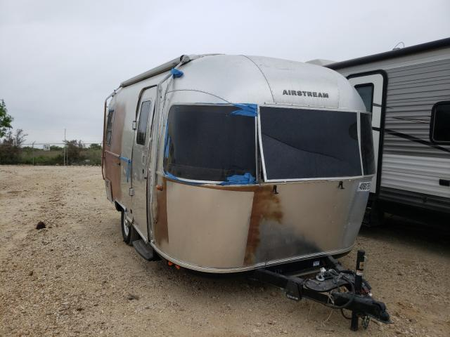 Salvage cars for sale from Copart San Antonio, TX: 2020 Airstream Bambi