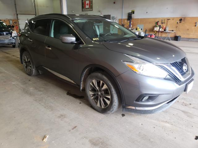 Salvage cars for sale from Copart Atlantic Canada Auction, NB: 2017 Nissan Murano S