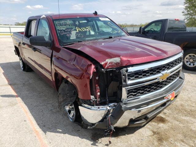 Salvage cars for sale from Copart Wichita, KS: 2015 Chevrolet Silverado