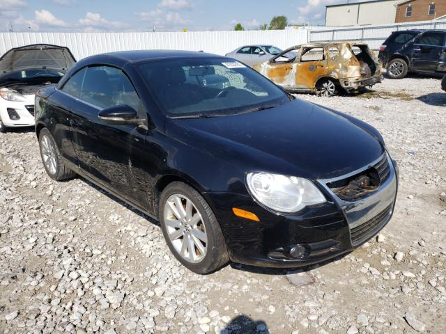 Salvage cars for sale from Copart Lawrenceburg, KY: 2010 Volkswagen EOS Turbo