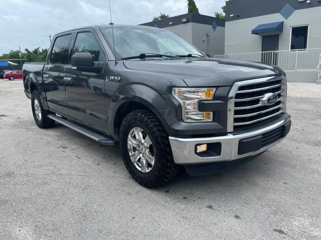 Salvage cars for sale from Copart Opa Locka, FL: 2016 Ford F150 Super