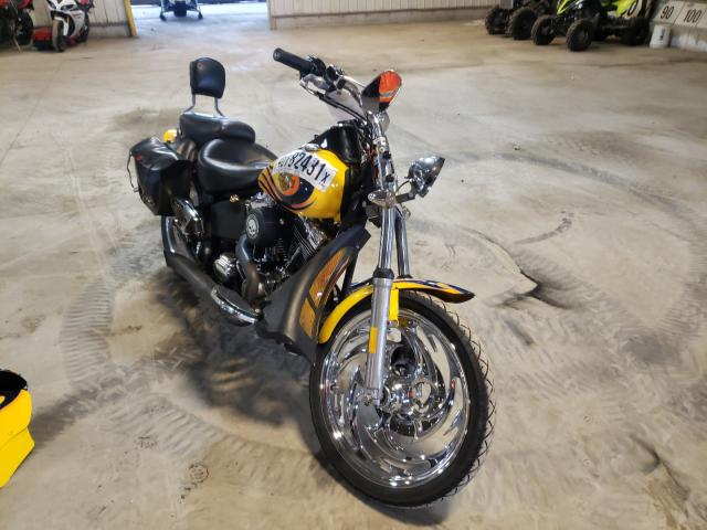 Salvage cars for sale from Copart Candia, NH: 2006 Harley-Davidson Fxstbi