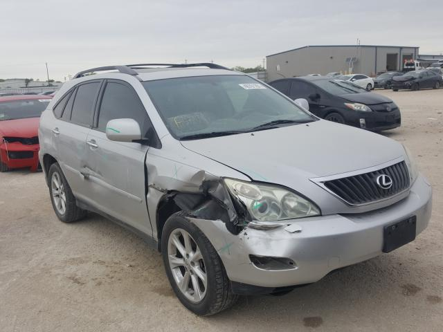 Salvage cars for sale from Copart San Antonio, TX: 2009 Lexus RX 350