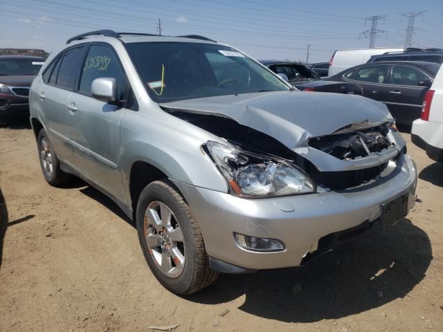Salvage cars for sale from Copart Elgin, IL: 2004 Lexus RX 330
