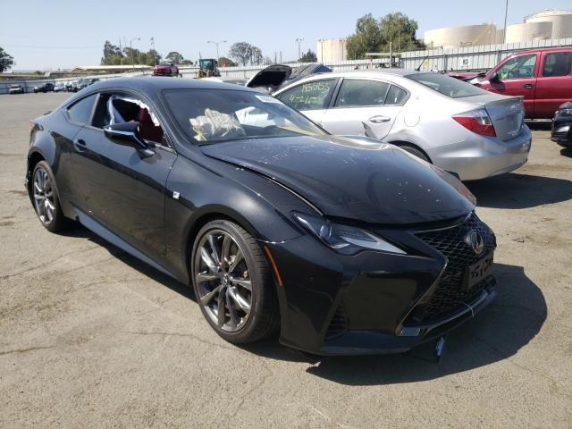 Salvage cars for sale from Copart Martinez, CA: 2021 Lexus RC 300 Base