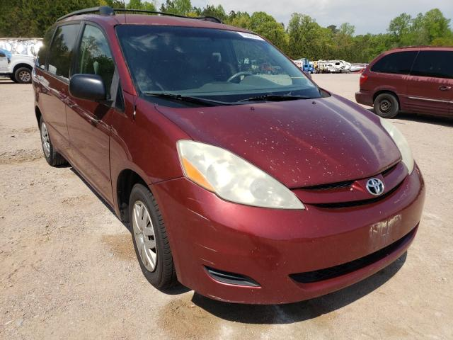 Salvage cars for sale from Copart Charles City, VA: 2007 Toyota Sienna CE