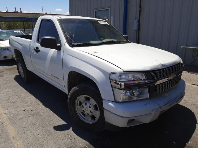 Salvage cars for sale from Copart Las Vegas, NV: 2005 Chevrolet Colorado