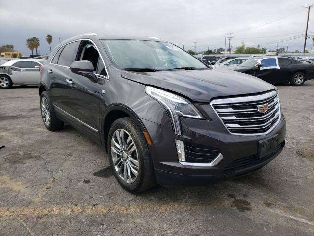 Salvage cars for sale from Copart Colton, CA: 2017 Cadillac XT5 Premium