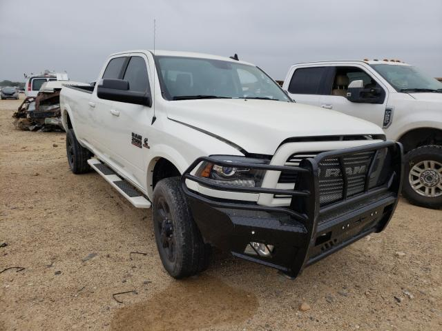 Salvage cars for sale from Copart San Antonio, TX: 2018 Dodge 2500 Laram