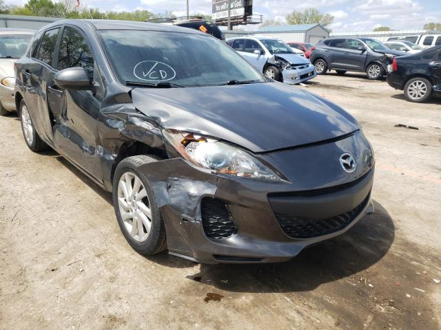 Salvage cars for sale from Copart Wichita, KS: 2012 Mazda 3 I