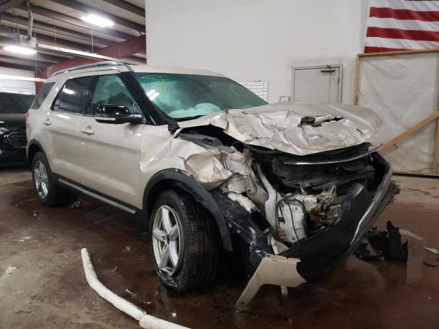Salvage cars for sale from Copart Lansing, MI: 2017 Ford Explorer X