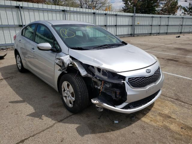 Salvage cars for sale at Moraine, OH auction: 2015 KIA Forte LX