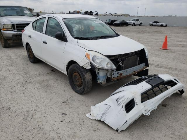 Salvage cars for sale from Copart Greenwood, NE: 2012 Nissan Versa S