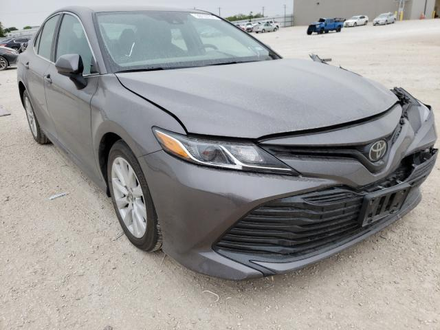 Salvage cars for sale from Copart San Antonio, TX: 2020 Toyota Camry LE