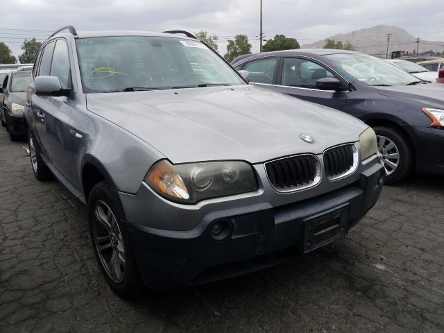 Salvage cars for sale from Copart Colton, CA: 2005 BMW X3 3.0I