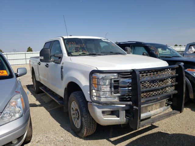 Salvage cars for sale from Copart Bismarck, ND: 2017 Ford F250 Super