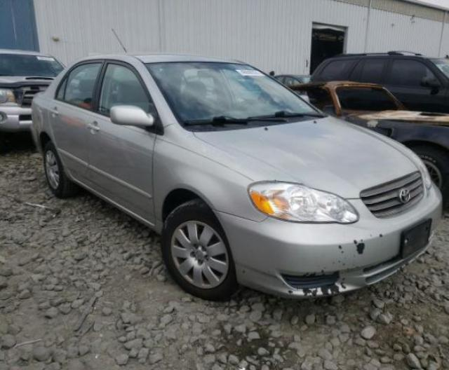 Salvage cars for sale from Copart Windsor, NJ: 2003 Toyota Corolla CE