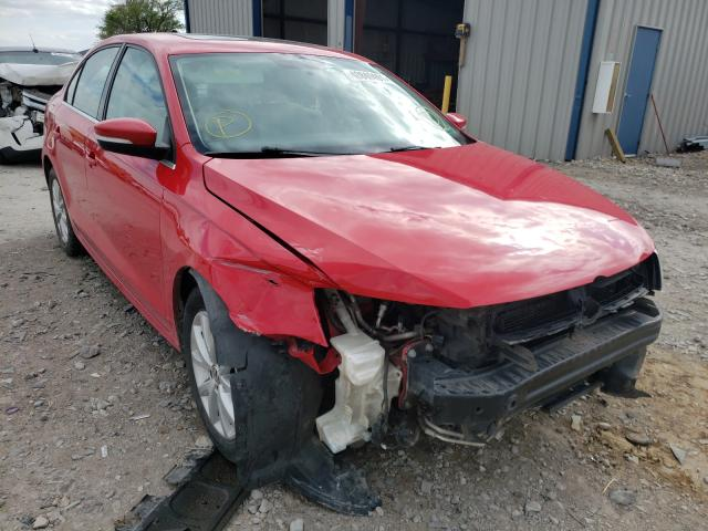 Salvage cars for sale from Copart Sikeston, MO: 2013 Volkswagen Jetta SE