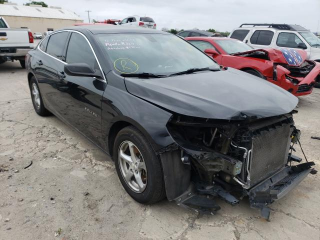 Salvage cars for sale from Copart Corpus Christi, TX: 2016 Chevrolet Malibu LS