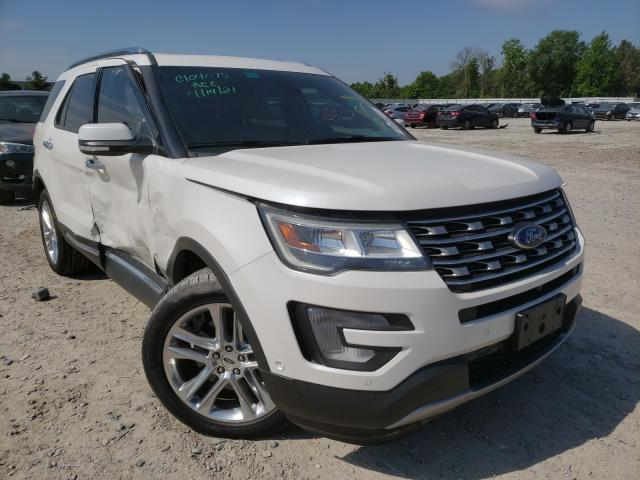 Salvage cars for sale from Copart Houston, TX: 2016 Ford Explorer L