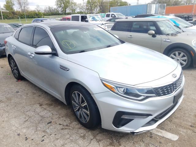 Salvage cars for sale from Copart Bridgeton, MO: 2019 KIA Optima LX