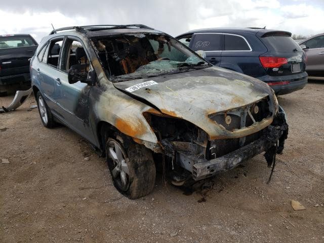 Salvage cars for sale from Copart Elgin, IL: 2006 Lexus RX 330
