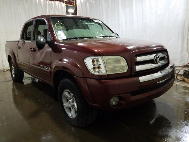 Salvage cars for sale from Copart Central Square, NY: 2005 Toyota Tundra DOU