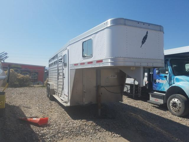 Featherlite Mfg Inc Trailer salvage cars for sale: 2012 Featherlite Mfg Inc Trailer