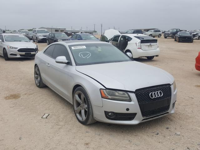 Salvage cars for sale from Copart San Antonio, TX: 2009 Audi A5 Quattro