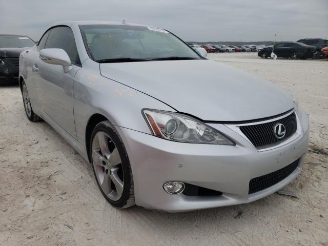 Salvage cars for sale from Copart New Braunfels, TX: 2010 Lexus IS 350