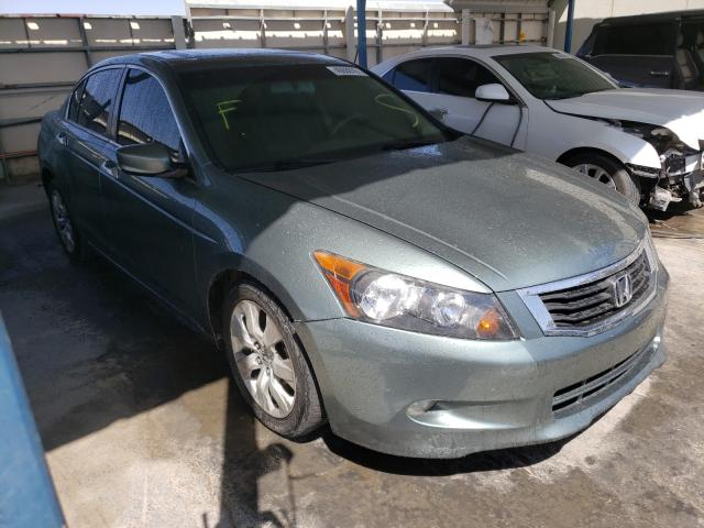 Salvage cars for sale from Copart Anthony, TX: 2008 Honda Accord EXL