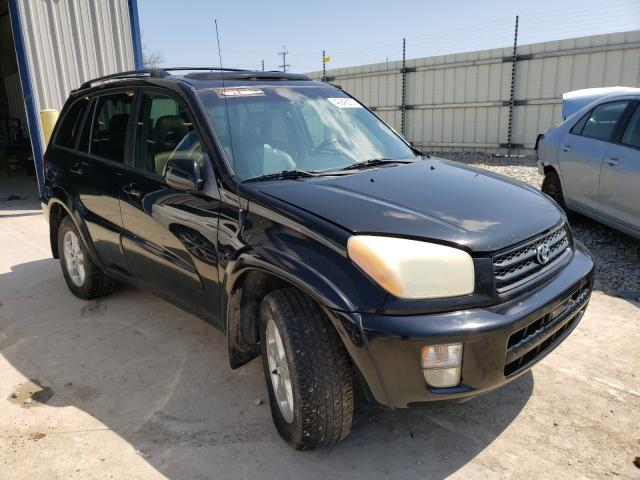 Salvage cars for sale from Copart Appleton, WI: 2002 Toyota Rav4