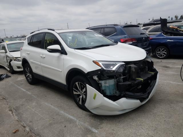 Salvage cars for sale from Copart Sun Valley, CA: 2018 Toyota Rav4 Adven