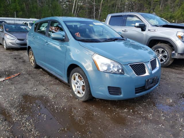 Salvage cars for sale from Copart Lyman, ME: 2009 Pontiac Vibe