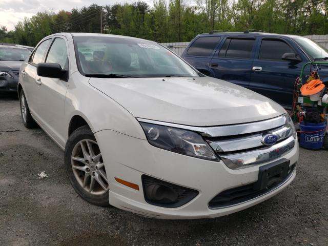 Salvage cars for sale from Copart Fredericksburg, VA: 2012 Ford Fusion S