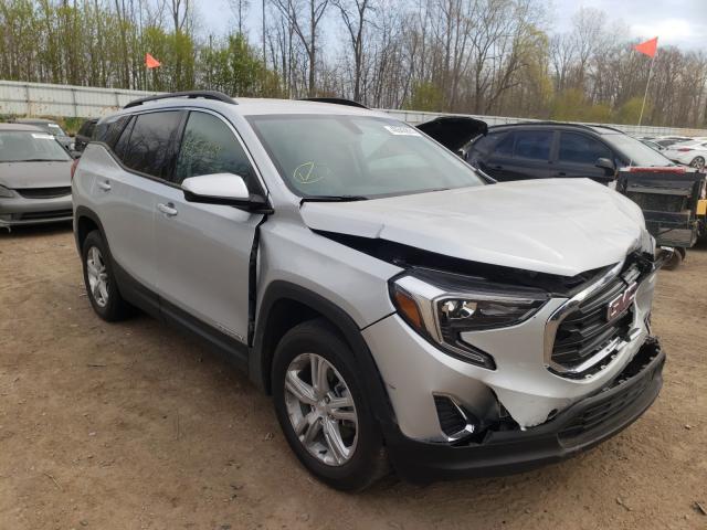 GMC salvage cars for sale: 2018 GMC Terrain SL