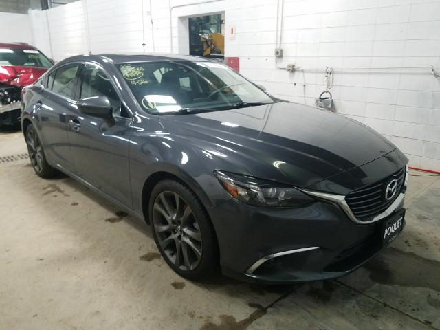 Salvage cars for sale from Copart Blaine, MN: 2016 Mazda 6 Grand Touring