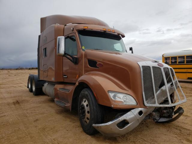 Salvage cars for sale from Copart Colorado Springs, CO: 2015 Peterbilt 579