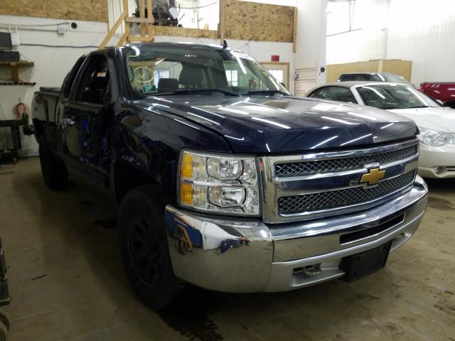 Salvage cars for sale from Copart Ham Lake, MN: 2012 Chevrolet Silverado
