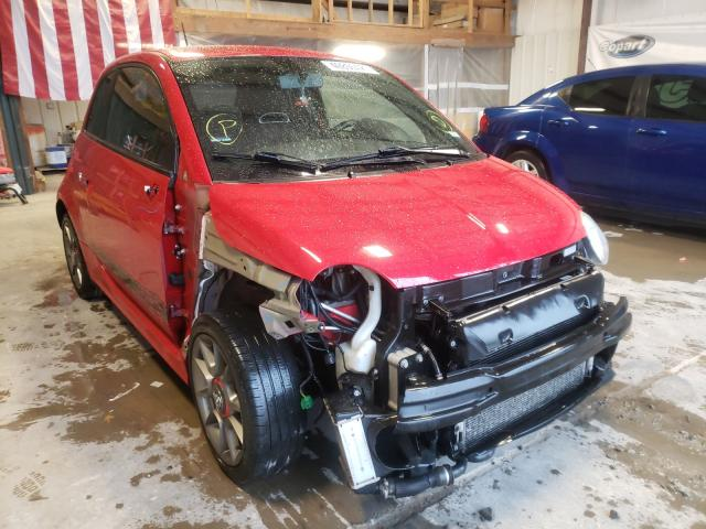 Salvage cars for sale from Copart Sikeston, MO: 2013 Fiat 500 Abarth