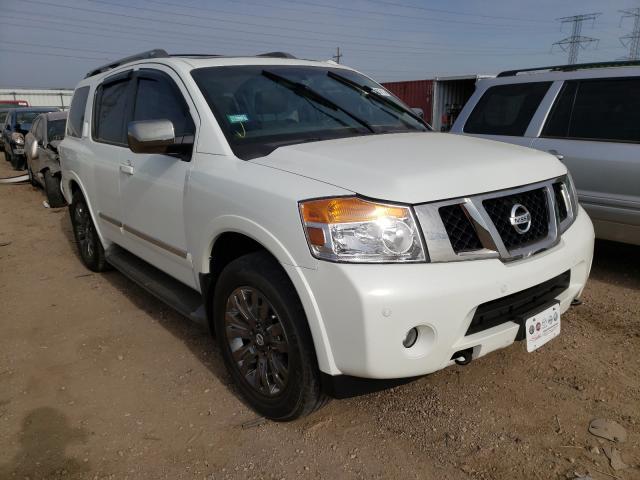Nissan salvage cars for sale: 2015 Nissan Armada PLA