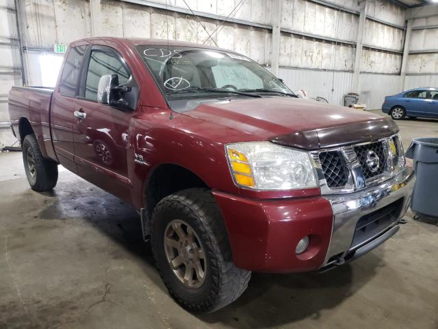 Nissan salvage cars for sale: 2004 Nissan Titan XE