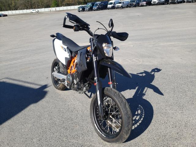 KTM salvage cars for sale: 2019 KTM 690 SMC R