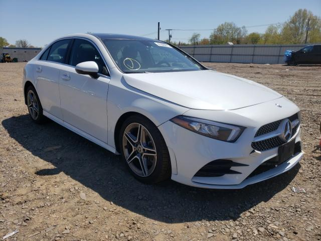 Salvage cars for sale from Copart Grantville, PA: 2020 Mercedes-Benz A 220 4matic