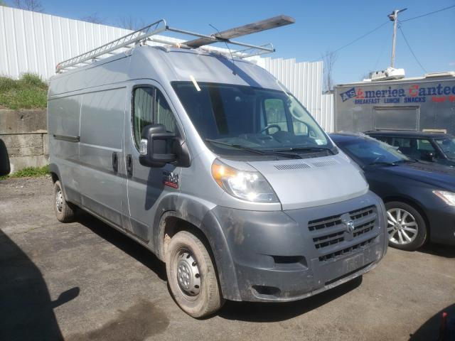 Salvage cars for sale from Copart Marlboro, NY: 2018 Dodge RAM Promaster